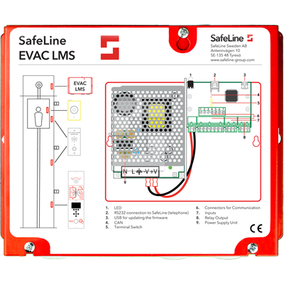 SafeLine EVAC PSU & LMS
