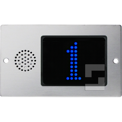 SafeLine FD4-CAN blue display, flush mounting with speaker