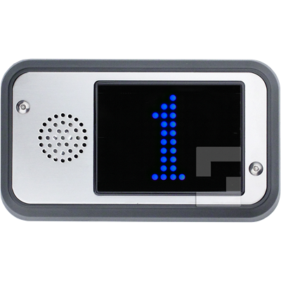 SafeLine FD4-CAN blue display, surface mounting with speaker