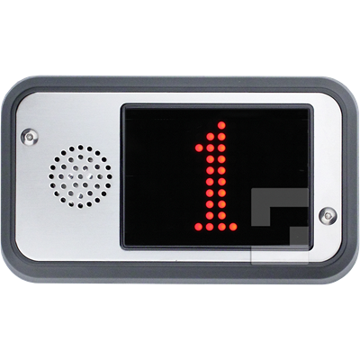 SafeLine FD4-CAN red display, surface mounting with speaker