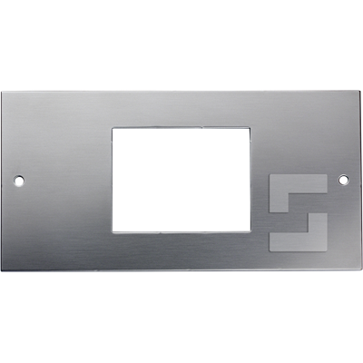 SafeLine FD4 front plate for flush mounting