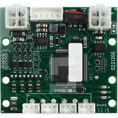 CAN board, 4 in-/outputs, JST connector