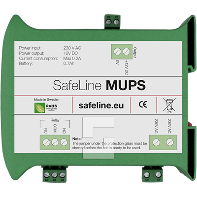 SafeLine MUPS emergency backup power