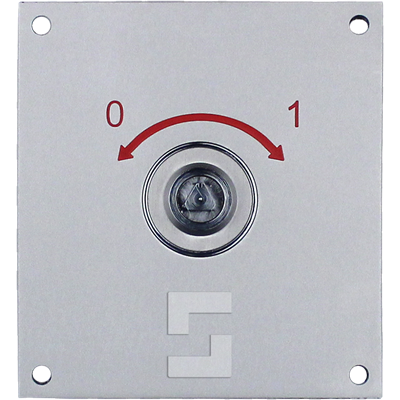 SafeLine SL6+ FIRE key switch, flush mounting