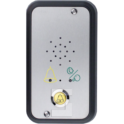 SafeLine SL6 voice station, surface mounting with LED pictograms & alarm button