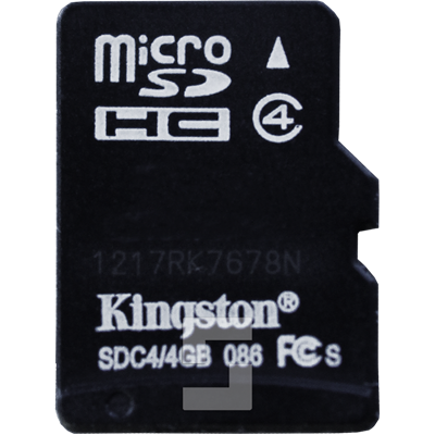 SafeLine FD1600 micro SD card with audio files