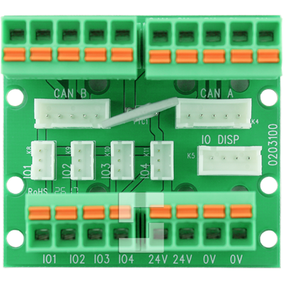 CANopen-Lift connection board, 6 in-/outputs
