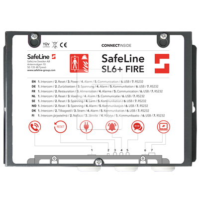 SafeLine SL6+ FIRE