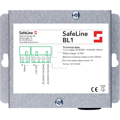 SafeLine BL1 batteribackup