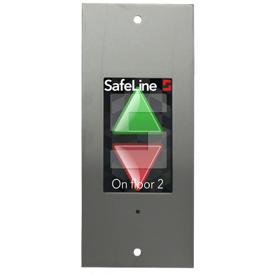 "SafeLine LEO 4"" TFT display innfelt montering"