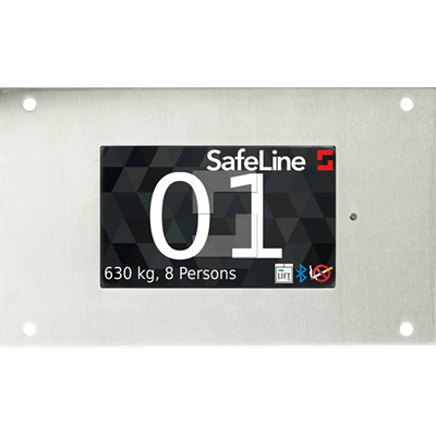SafeLine LEO 5, flush mounting