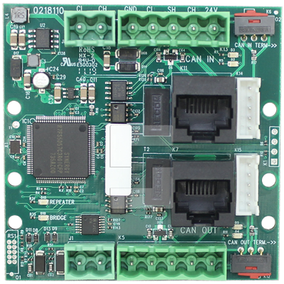 SafeLine CAN Bridge, repeater board